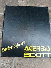 Scott 1992 /mountain Bike  Catalogo Cycling vintage