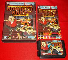BONANZA BROS Sega Mega Drive MegaDrive Versione NTSC Giapponese ○ COMPLETO - DR