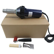 1600W Plastic Hot Air Welder Heat Gun + Welding Nozzle + Roller + Heater element