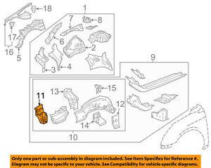 Fender-Susp Support Left Cadillac XTS 15 16 17 GM OEM  13303735 BN3