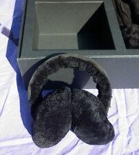 EMU Lammfell Ohrwärmer Handschuhe schwarz Gr.XS/S Geschenkbox  WARM EDEL NP159€