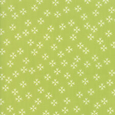 """MODA FABRIC """"THE FRONT PORCH"""" PISTACHIO 37544 14 QUILTING SEWING 100% COTTON"""
