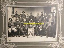 Grande Photo Prisonniers de guerre 14/18 WW1