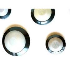 FLOS ONDA 2 LAMPADA PARETE/SOFFITTO ANTRACITE E27 60W