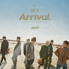 GOT7-[FLIGHT LOG:ARRIVAL] Album CD+POSTER+3 Photo Books+4p Photo Card