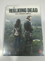 The Walking Dead Sixth Stagione 6 Completa - 5 X DVD Spagnolo Inglese Nuovo