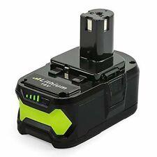 NeBatte P108 18V 5.0Ah Batterie de Remplacement Lithium-ion pour Ryobi One ...