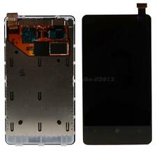 Touch Screen LCD Display Frame Digitizer Assembly Fr Nokia Lumia N800 / 800 MKLG