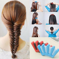 1pcs DIY Sponge Hair Braider Plait Hair Twist Braiding Tool Hair Styling Tools