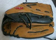 """Rawlings RBG36T Gold Glove Co 12.5"""" Right Hand Throw Fastback Leather Glove Ball"""