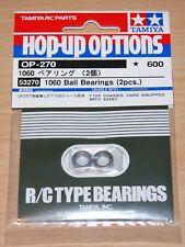 Tamiya 53270 1060 Ball Bearing (2 Pcs.) (TB02/TB03/F103GT/F103RX/F104/RM01), NIP