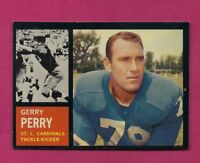 1962 TOPPS # 145 CARDINALS GERRY PERRY ERROR NRMT-MT CARD (INV# A5114)