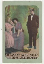 Romance ~ Jealous Young Gentleman Postcard