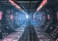 A1 | Space Station Ship Poster Print 60 x 90cm 180gsm Sci-Fi Wall Art #14468