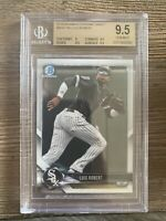 2018 Bowman Chrome Luis Robert Rc BDC188 BGS 9.5 Chicago White Sox Mint