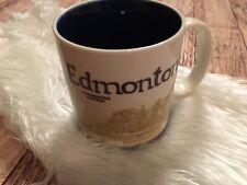 Starbucks HTF Edmonton Alberta Canada Global Icon Coffee Mug Rare Collector