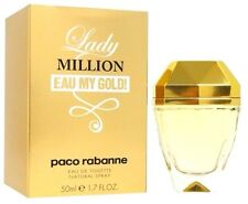 PACO RABANNE LADY MILLION EAU MY GOLD WOMEN EAU DE TOILETTE SPRAY 50ML/1.7OZ.NEW