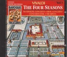 Vivaldi(CD Album)The Four Seasons-VG