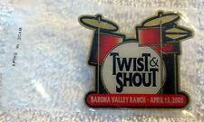 2005 The Beatles Twist & Shout Tribute Band Barona Valley Ranch, California Pin