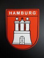 Hamburg Wappen Magnet Hammaburg,Reise Souvenir Germany aus Gummi