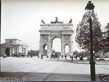 Italie .Italia . Milan . Milano .photo ancienne.vers 1900