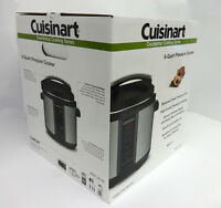 Cuisinart CPC-600 1000W 6qt. Pressure Cooker Brushed Stainless Steel-Brand New