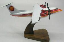 De Havilland DHC-7 Golden West Airplane Wood Model SML Free Shipping