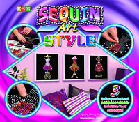 Sequin Art Style Mannequins Craft Kit (SAS1203)
