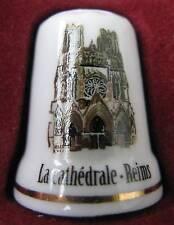 Dé à coudre La Cathedrale de Reims Thimble Fingerhut #3