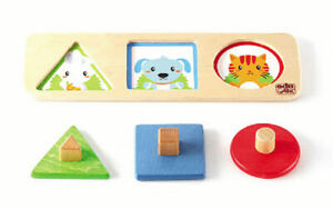 Surprise Window - Shapes Kids Childrens Board Puzzles
