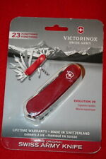VICTORINOX SWISS ARMY KNIFE EVOLUTION-28 RED 85MM 23 FUNCTION KNIFE