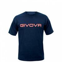 T-shirt Spot Manica Corta Uomo Givova MA008 Blu