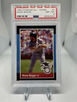 1988 Donruss All Star Wade Boggs #7 PSA 8 Hall Of Fame HOF Boston Red Sox 🔥