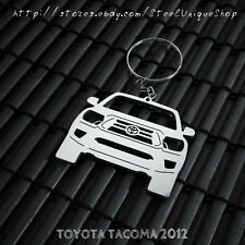 Toyota Tacoma 2012 Stainless Steel Keychain