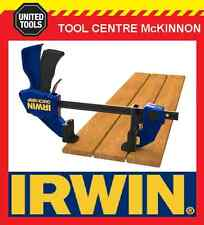 "IRWIN QUICK-GRIP 6"" / 150mm ONE HANDED BAR CLAMP WITH DECK TOOL KIT"