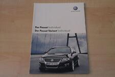 69180) VW Passat + Variant individual Prospekt 06/2007