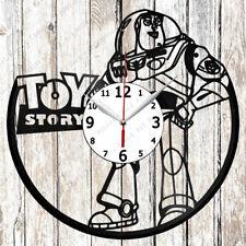 Toy Story Vinyl Wall Clock Made of Vinyl Record Original gift 2616