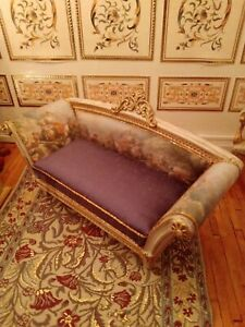1/12 Dolls house sofa artisan made stunning piece