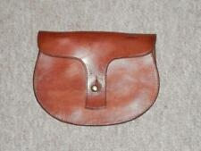 More details for victorian military english leather pistol ammunition pouch - r.underwood '1900'
