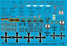 Peddinghaus 1/32 F-104 Starfighter Bundesmarine Modern German Navy Markings 1121