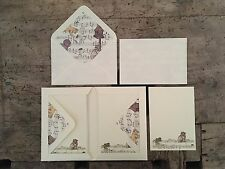 10 Biglietti singoli con buste (cm11,5x16,5)-10 Single Cards with envelopes