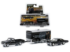 "1968 CHEVROLET C-10 & 1967 IMPALA ""SUPERNATURAL"" SET 1/64 GREENLIGHT 51006"