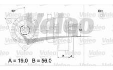 VALEO Alternador 97A Para CITROEN SAXO 437186