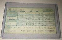 10/20/97 MTV VHI The Rolling Stones Tix Ticket Stub Foxboro Boston Massachusetts