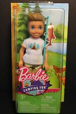 Barbie - Camping Fun - BOY Friend of Chelsea Fishing Pole NEW- #FGC92- NRFB