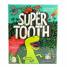 Gamewright SUPER TOOTH Card Game - Board DINOSAURS Matching Ages 6+