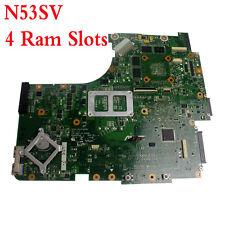 For Asus N53SV N53SM N53SN Laptop Motherboard 4 Ram Slots GT540M REV2.2 HM65