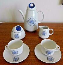 PORCELLANA vintage con BAREUTHER Waldsassen BAVARIA GERMANY caffè per due