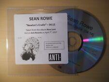 SEAN ROWE : NEWTON'S CRADLE [ CD SINGLE ]