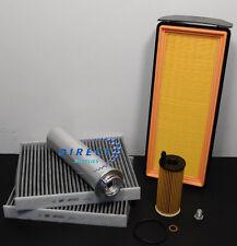 BMW 6 SERIES 640D F12 F13 F06 SERVICE KIT OIL AIR FUEL CABIN FILTERS - SUMP PLUG